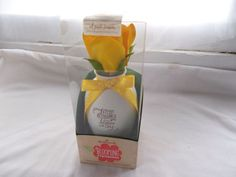 New Hallmark Blooming Expressions Yellow Flower Little Blessings Bloom Each Day