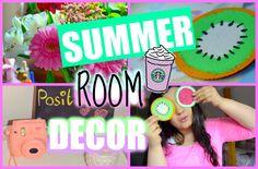 ♡ DIY SUMMER ROOM DECOR  2015 ♡