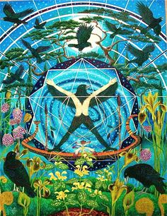 The Old Chapel, Chalford, Gloucestershire (UK) is the home of artists John and Fiona Owen. Their garden, which has been featured in national and international magazines, is open to the public under the National Gardens Scheme.