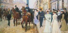 La rue de la Paix (vers 1900)