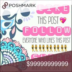 💋 FOLLOW GAME ✨ - like this listing - follow me (I'll follow back) -follow everyone else who has liked this listing -share the listing with your PFF's 💕 Lets get some followers!! 😋 kate spade Dresses