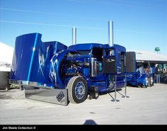 Jim Steele's Truck Pictures - Big Rig Truck Show 2009
