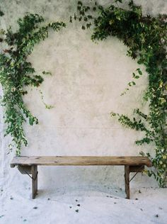 FOR THE CEREMONY || NOVELA BRIDE...A backdrop framed by rambling, climbing greenery || Where the modern romantics play & plan the most stylish weddings...www.novelabride.com @novelabride #jointheclique