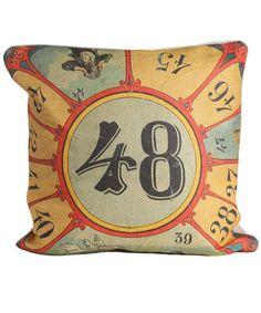 circus inspiration pillow