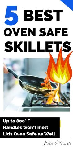 There are many factors that go into selecting a truly oven proof skillet. In this post. I'll list those criteria, plus my 5 favorite oven proof skillets currently on the market. #pans #skillets #ovensafe