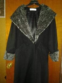 Lavantino dress for woman wool coat v Richy coat size large free ship for$59.99