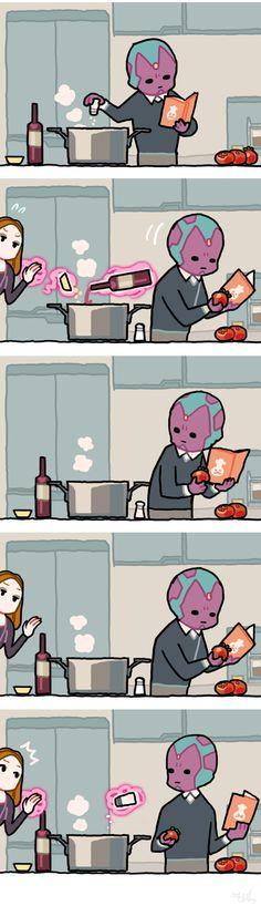 Just teach him how Wanda.