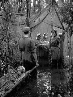 Image result for vietnam war hospital