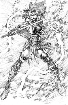 Lady Sif by Philip Tan