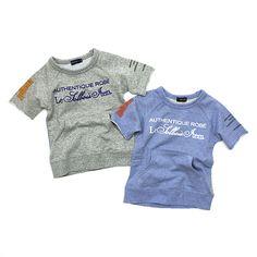 《SOLBOIS ソルボワ》 ミニ裏毛 ラグラン半袖スウェットシャツ(全2色)80-130【楽天市場】