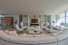 Trend alert: Sof� arredondado! Veja modelos e ambientes decorados com essa tend�ncia!