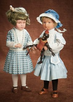 At Play in a Field of Dolls (Part 1 of 2-Vol set): 171 American Carved Wooden Doll by Schoenhut
