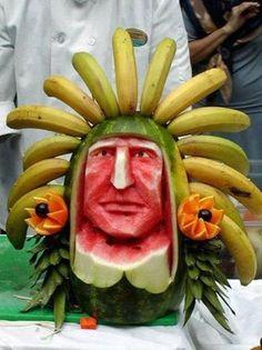 Amazing food art on G+