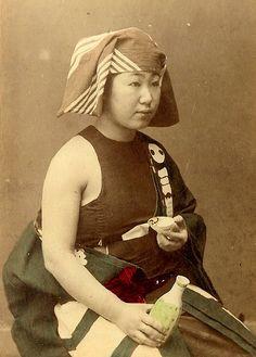 Combattante de Sumo. 1870.