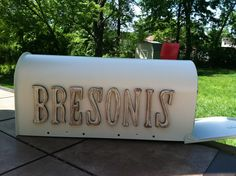 Customize your name on your mailbox