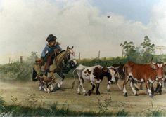 el arreo Rio Grande, Western Art, Places To Travel, Westerns, Cow, Cartoon, Painting, Animals, Beautiful