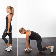 Work your back while toning the lower-body