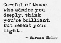 Warsan Shire • careful...