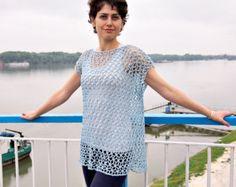 CROCHET PATTERN woman lace skirt women beach cover by AnaDdesign