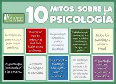 10 mitos de la psicologia #psicologia