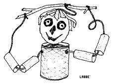Puppentheater: Marionette aus Resten - Zzzebra, das Web-Magazin für Kinder | Labbé Verlag