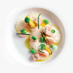 Mackerel Tartare With Fruits De Mer Sea Beans from Daniel Humm & Will Guidara    —Francesco Tonelli