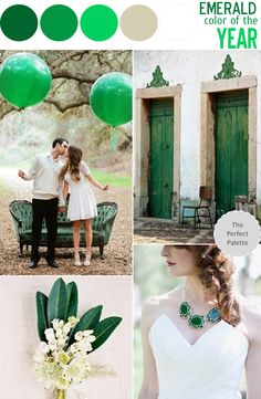Color Story | Emerald - Pantone's Color of the Year! http://www.theperfectpalette.com/2013/06/color-story-emerald-pantones-color-of.html