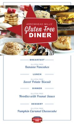 Welcome, Gluten Free eaters! Visit our Gluten Free Diner for a full day's worth of our favorite Gluten Free recipes!
