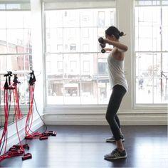 The 5-Move Workout Swimsuit Models Swear By  - HarpersBAZAAR.com