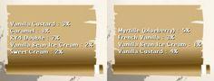 Arôme Vanilla Custard Capella - e liquide diy - Arom-Team