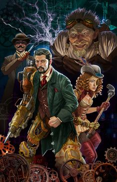 Artificer - DnD Class #DungeonCrawling #DnD #Artificer #DnDClass #Character #Inspiration #Magic #Fantasy #JRusso