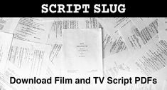 8 Best film scripts images in 2019   Film script, Script