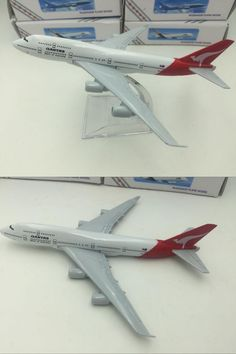 [Visit to Buy] Cheerleading Souvenir Alloy Metal Australian AIR QANTAS B787 Airlines Aircraft Boeing 787 Airways Airplane Model Plane  Toy Gift #Advertisement