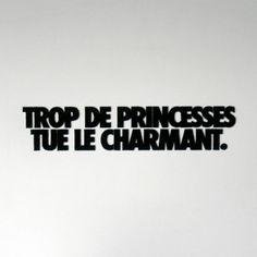 Trop de princesses tue le charmant | Adieu et à demain | La Pièce Vintage