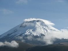 Cotopaxi is the highest and most active volcano in the world.