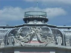 Detail of Rococo roof at Schloss Benrath