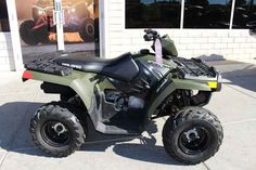 New 2016 Polaris Sportsman 110 EFI Sage Green ATVs For Sale in Nevada. 2016 Polaris Sportsman 110 EFI Sage Green, 2016 Polaris® Sportsman® 110 EFI <p> Features may include: </p> Youth Features <li>Electronic Fuel Injected (EFI) 112 cc Engine</li><p>EFI for consistent starting, improved idle quality, and a crisp linear throttle response.</p><li>Parent Adjustable Speed Limiting</li><p>Easily select from a 15 MPH restricted mode, or unrestricted 29 MPH based on rider skill level. EFI provides…