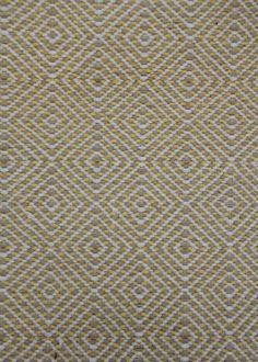Canary Yellow Wool Mosaic Posh, A Great Neutral Rug Option. Portland Rugs U0026