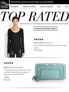 Saks Fifth Avenue: Top Rated: What Our Customers Are Loving