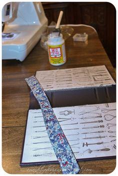 diy book purse   DIY Repurposed Book Purse Tutorial   Amandita Designs