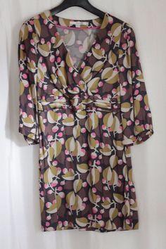 Boden Retro Tunic Top Dress Size UK 8 P (Petite) - US size 4P #Boden #TunicKaftan #SmartCasual