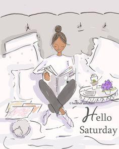 Hello Saturday...