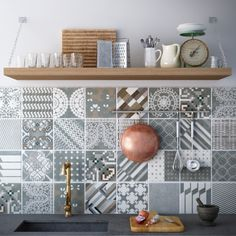 #mutina #kitchen #rustic