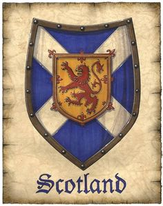 SCOTTISH COAT OF ARMS                                                                                                                                                                                 More