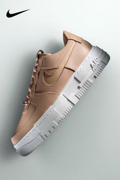 The AF-1 Pixel reimagines off-court style with crisp leather and chunky lines. Shop it on Nike.com. Dr Shoes, Swag Shoes, Nike Air Shoes, Cute Shoes, Air Force One Shoes, Cute Maternity Outfits, 1 Pixel, Winter Shoes, Swagg