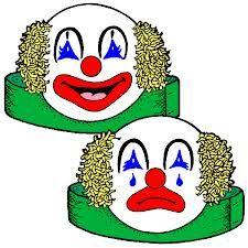 Happy And Sad Clowns
