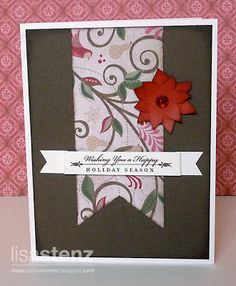 Lisa's Creative Corner: October Creative Club - Christmas Cards and Tote Bag