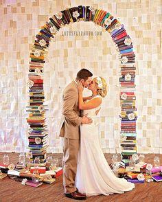 From a beautiful book inspired wedding I photographed last fall. ♥ Such a gorgeous couple and such a cool idea! #love #photooftheday #lotusflyphoto #milwaukee #weddingphotography #amazing #smile #style #bride #groom #wedding #weddingdress #vintagewedding #books #bookworm #bookwedding #booknerd #literature #romance #romantic #booktheme #reading #ilovereading #ilovebooks