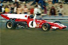 Jacky Ickx, Zandvoort 1971, Ferrari 312B2... Winner...