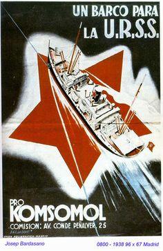 Spain - 1938. - GC - poster - autor: Josep Bardasano